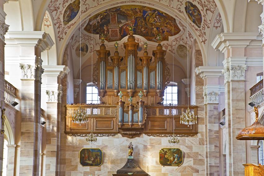 Ebersmunster orgue