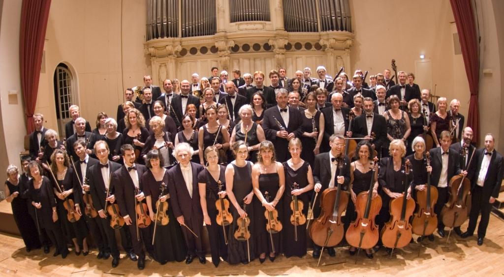 Photo panoramique orchestre