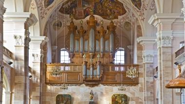 Lancement de la 1ère Saison des récitals d'orgue d'Ebersmunster
