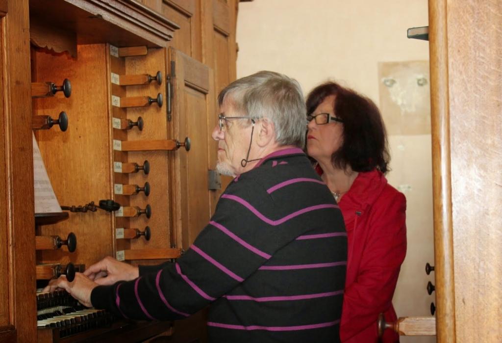 Derniers instants en qualité d'organiste titulaire de l'orgue Silbermann d'Ebersmunster