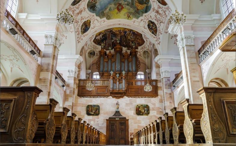 église abbatiale Ebersmunster