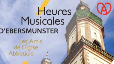 SAISON 2019 DES HEURES MUSICALES D'EBERSMUNSTER
